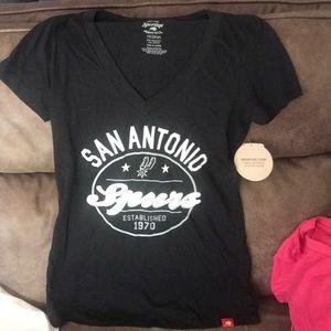 San Antonio Spurs v-neck